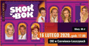 CKE Czerwionka-Leszczyny: Skok w Bok – spektakl komediowy