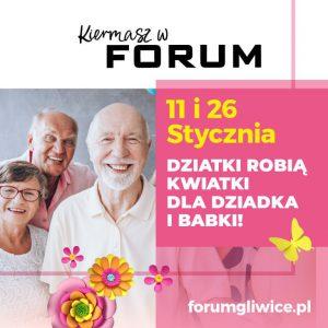 CH Forum Gliwice: PO PREZENT DLA BABCI I DZIADKA NA KIERMASZ RĘKODZIEŁA