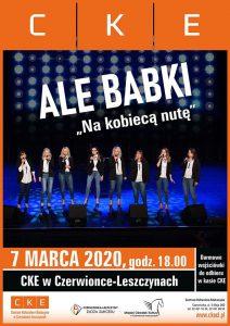 """CKE Czerwionka-Leszczyny: Ale Babki """"Na kobiecą nutę"""" - koncert"""