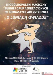 """Knurów: III Ogólnopolski Magiczny Turniej Grup Rekreacyjnych w Gimnastyce Artystycznej """" O Lśniącą Gwiazdę"""""""