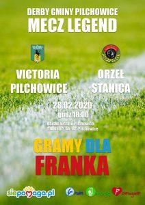 Victoria Pilchowice vs Orzeł Stanica -Gramy dla Franka
