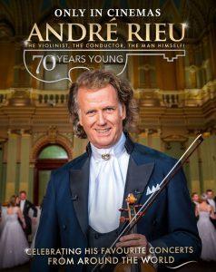 Knurów: Retransmisja koncertu: André Rieu, czyli 70 lat młodości w Kino Scena Kultura