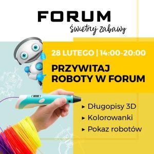 Gliwice: ROBOPARK - SPOTKAJ ROBOTY W CH FORUM