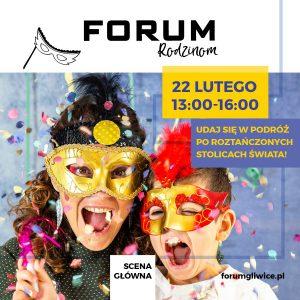 CH Forum Gliwice: Karnawałowa podróż dookoła świata