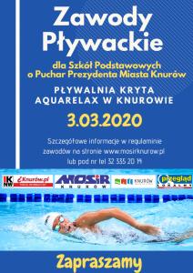 Knurów: Zawody Pływackie Szkół Podstawowych o Puchar Prezydenta Miasta Knurów