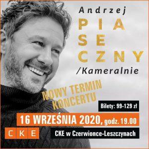 CKE Czerwionka-Leszczyny: Koncert Andrzeja Piasecznego