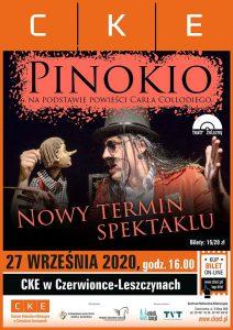 """CKE Czerwionka-Leszczyny: Spektakl """"Pinokio"""""""