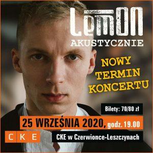 CKE Czerwionka-Leszczyny: LemON - akustycznie