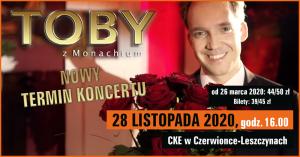 """CKE Czerwionka-Leszczyny: Koncert """"Toby z Monachium"""""""