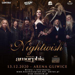 NIGHTWISH w Arenie Gliwice xMystic Coalition