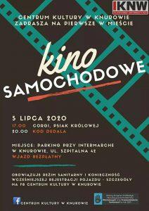 Knurów: KINO SAMOCHODOWE po raz pierwszy w KNUROWIE