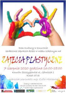 Knurów: Zajęcia plastyczne w DK