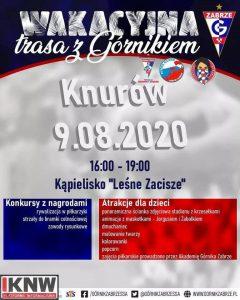 """Knurów: """"Wakacyjna trasa z Górnikiem"""""""