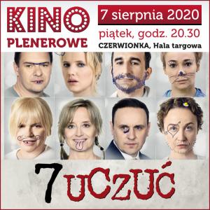 """Czerwionka-Leszczyny: Kino Plenerowe """" 7 Uczuć"""""""