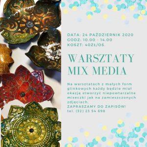 Arteria Ornontowice: Warsztaty Mix Media