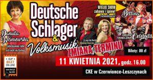 Czerwionka-Leszczyny: Koncert Deutsche Schlager & Volksmusik