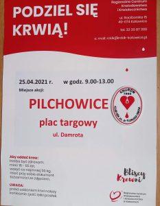 Pilchowice: Akcja poboru krwi