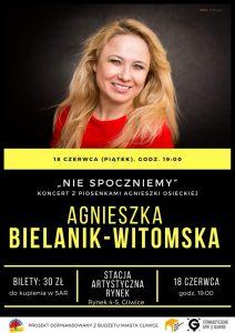 """Gliwice: Koncert pt. """"Nie spoczniemy"""" z piosenkami do słów Agnieszki Osieckiej"""