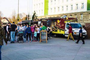 Gliwice: Szama na Placu- wiosenna strefa food trucków na Placu Krakowskim