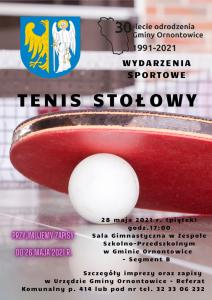 Ornontowice: Tenis stołowy...