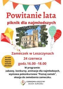 Czerwionka-Leszczyny: Powitanie lata - piknik dla najmłodszych