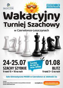 Czerwionka-Leszczyny: Wakacyjny Turniej Szachowy (blitz)