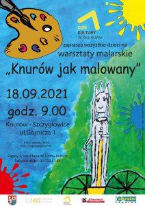 """Knurów: WARSZTATY MALARSKIE """"KNURÓW JAK MALOWANY"""""""