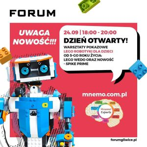 Gliwice: Otwarte pokazy Lego Robotyki w CH Forum