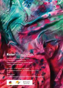 Gliwice: KOLOR to tworzywo | Wystawa twórczości Moniki Krasoń