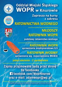 Knurów: Kurs z zakresu ratownictwa wodnego.