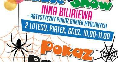 CKE Czerwionka-Leszczyny: Pokaz baniek mydlanych oraz pokaz pająków