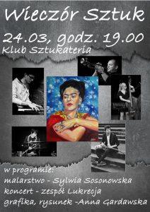 KLUB Sztukateria: Wieczór Sztuk @ Knurów | śląskie | Polska