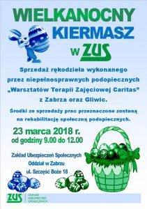 ZUS w Zabrzu: Wielkanocny Kiermasz @ Zabrze | śląskie | Polska
