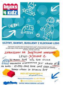 DK Wilcza: Warsztaty LEGO-JAJECZNE @ Polska
