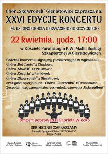 Gierałtowice: XXVI edycja koncertu im.ks. Grzegorza Gerwazego Gorczyckiego @ Gierałtowice | śląskie | Polska