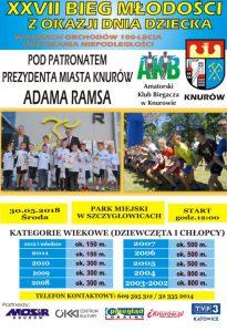 Knurów: XXVII Bieg Młodości z okazji Dnia Dziecka @ Czerwionka-Leszczyny | śląskie | Polska