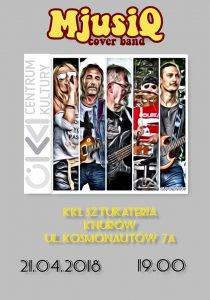Klub Sztukateria: Rockowa jazda bez trzymanki – MjusiQ cover band @ Knurów | śląskie | Polska