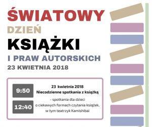 Gminna Biblioteka Publiczna w Ornontowicach: Światowy Dzień Książki i Praw Autorskich @ Ornontowice | śląskie | Polska