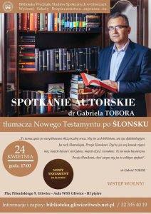 Gliwice: Spotkanie autorskie z dr. Gabrielem Toborem @ Gliwice | śląskie | Polska