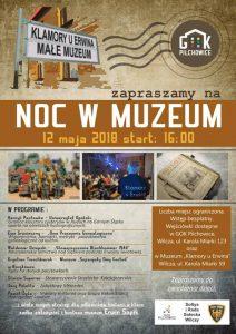 GOK Pilchowice: Noc w Muzeum @ Wilcza | śląskie | Polska