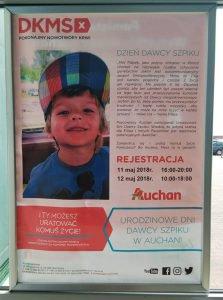Auchan: DKMS – Dzień Dawcy Szpiku @ Gliwice | śląskie | Polska