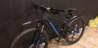 Skradziony rower m-ki Hawk Hill INT 27,5 Gloss Black M