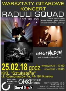 Warsztaty gitarowe Koncert: RADULI SQUAD @ sztukateria  | Knurów | śląskie | Polska