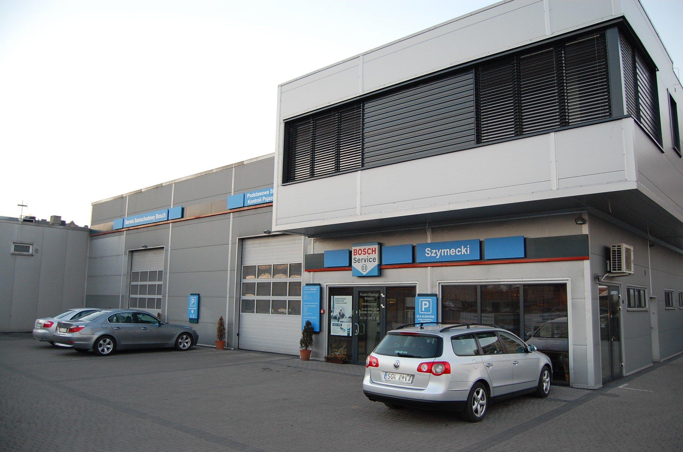 Auto Service Building : Motoryzacja sukces knurowskiej firmy auto serwis szymecki