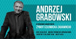 Kopalnia Guido w Zabrzu: Stand-up Andrzeja Grabowskiego @ Zabrze | śląskie | Polska