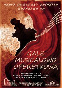 Teatr Muzyczny Castello w Mosznej: Gala musicalowo-operetkowa @ Moszna | opolskie | Polska