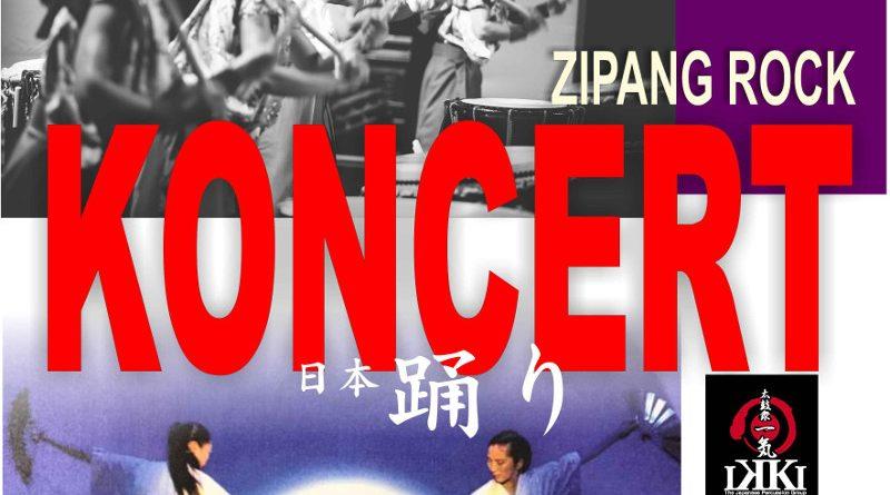 KONCERT w CKE – ZIPANG ROCK – Zespół bębniarzy z Tokio IKKI – taniec japoński