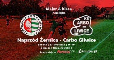 Zapowiedź meczu: Naprzód Żernica – Carbo Gliwice