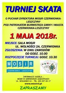 MOSiR Czerwionka-Leszczyny: Turniej Skata o Puchar Dyrektora @ Czerwionka-Leszczyny | śląskie | Polska