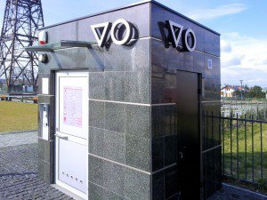 Toaleta publiczna WC MINI GRANIT BLACK Gliwice Radiostacja